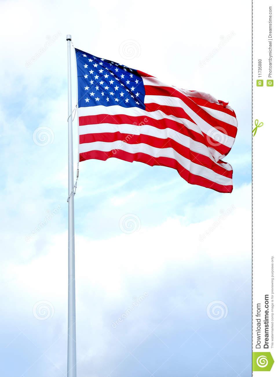 Us flag pole clipart clipart freeuse stock American Flag Pole Clipart - Clipart Kid clipart freeuse stock