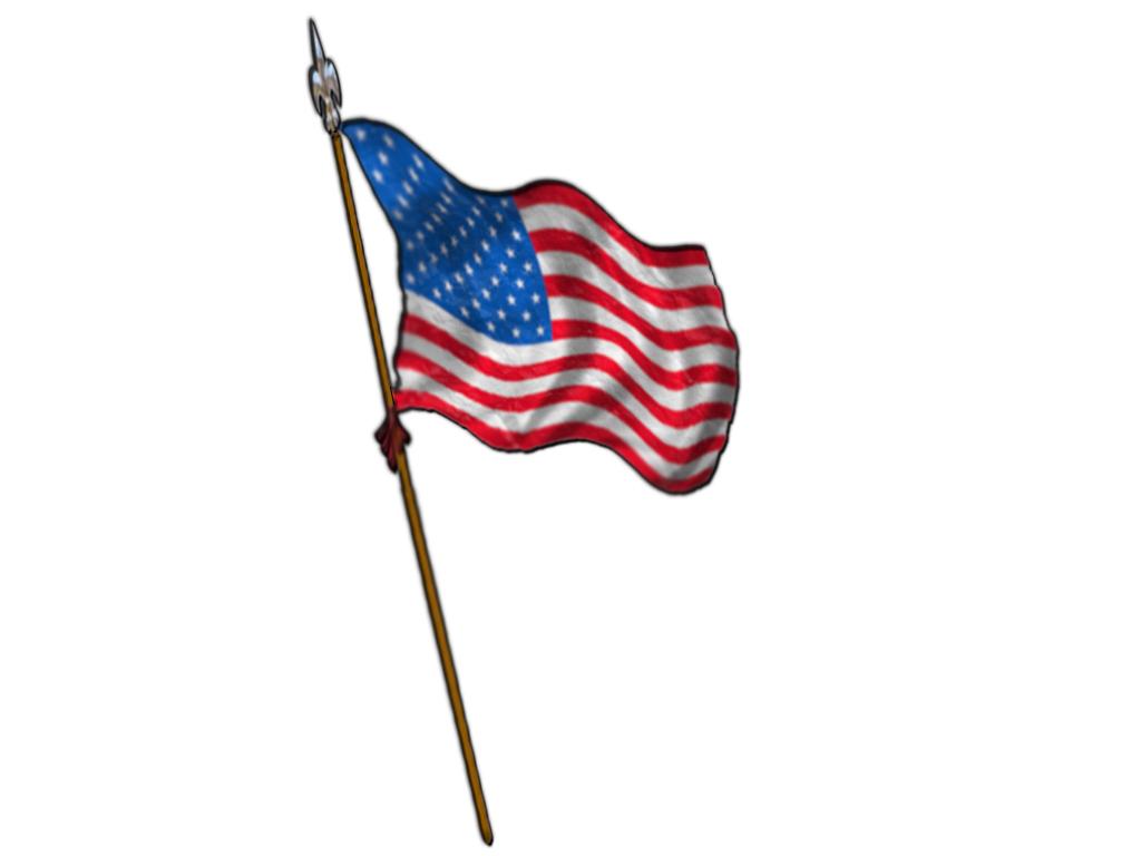 Us flag pole clipart vector transparent download Us flag american flag pole clipart kid - Clipartix vector transparent download