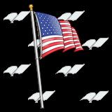 Us flag pole clipart image Us flag pole clipart - ClipartFest image