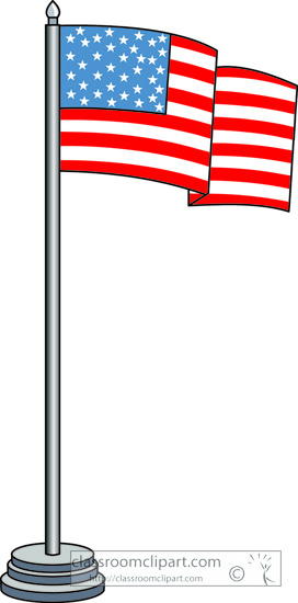 Us flag pole clipart svg freeuse library Us flag pole clipart - ClipartFest svg freeuse library