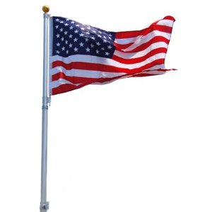 Us flag pole clipart image freeuse library American Flag Pole Clipart - Clipart Kid image freeuse library