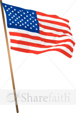 Us flag pole clipart graphic freeuse library American Flag Pole Clipart - Clipart Kid graphic freeuse library