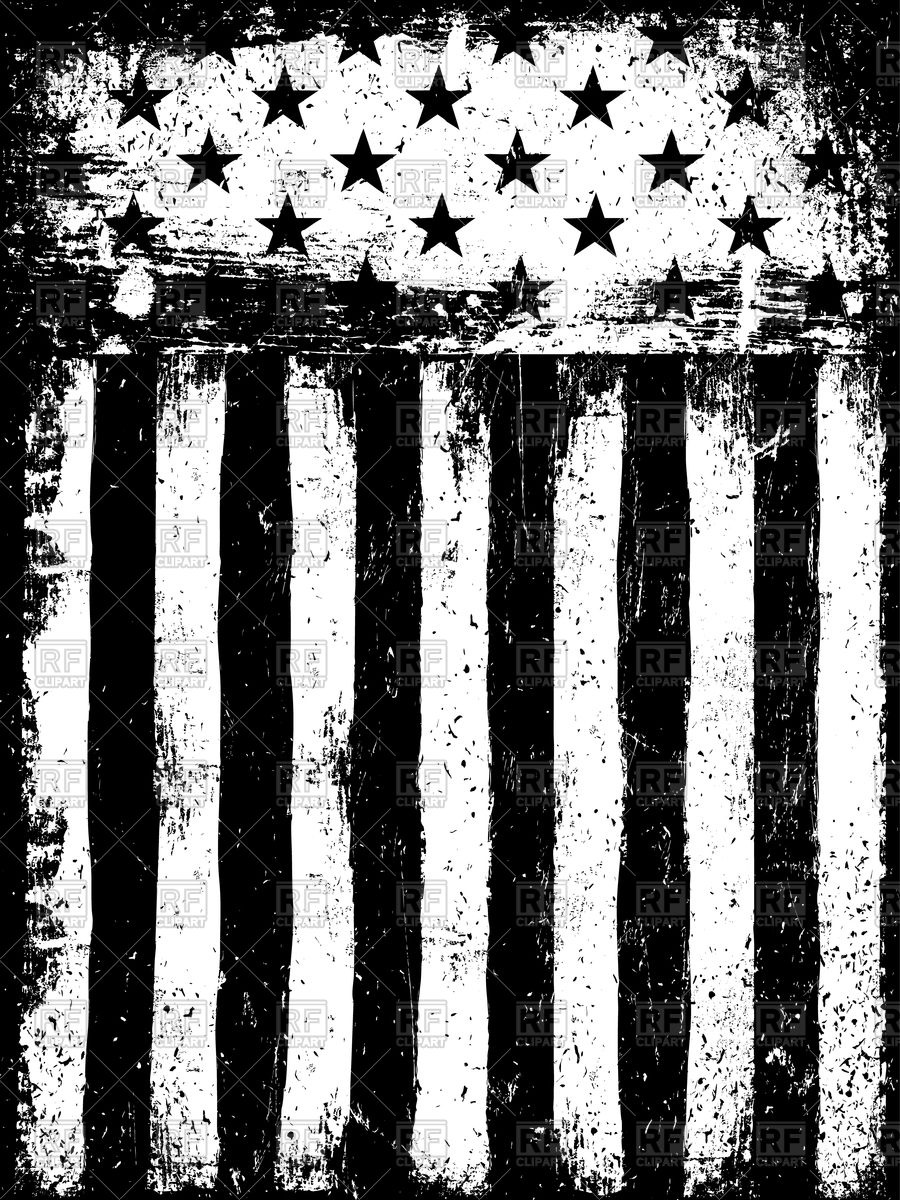 Us flag stripes clipart vector library download Stars and Stripes American Flag Background Vector Image #109376 ... vector library download