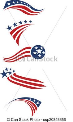 Us flag stripes clipart clip black and white library Art Fourth July Of American Flag ... clip black and white library