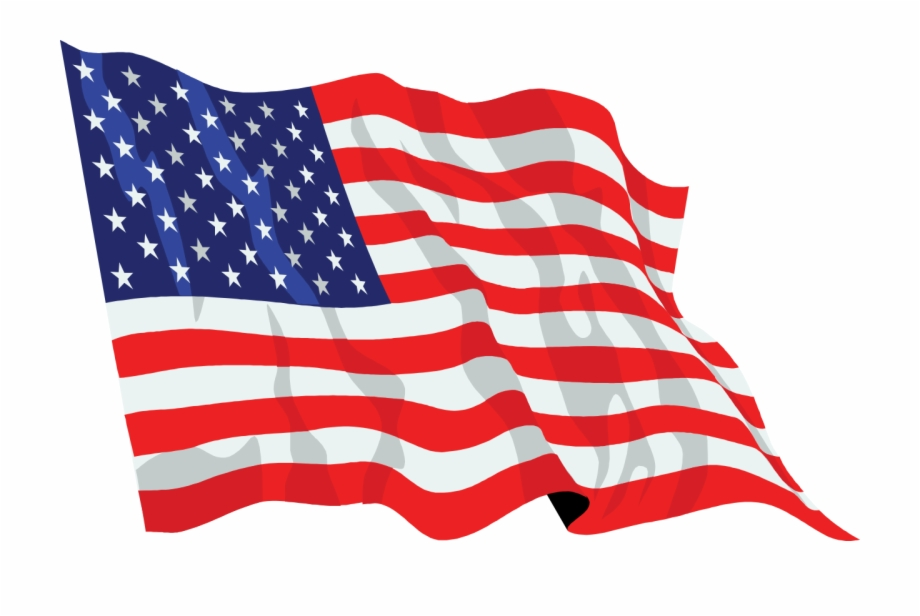 Us flag waving clipart graphic royalty free library American Flag - Us Flag Waving Png Free PNG Images & Clipart ... graphic royalty free library