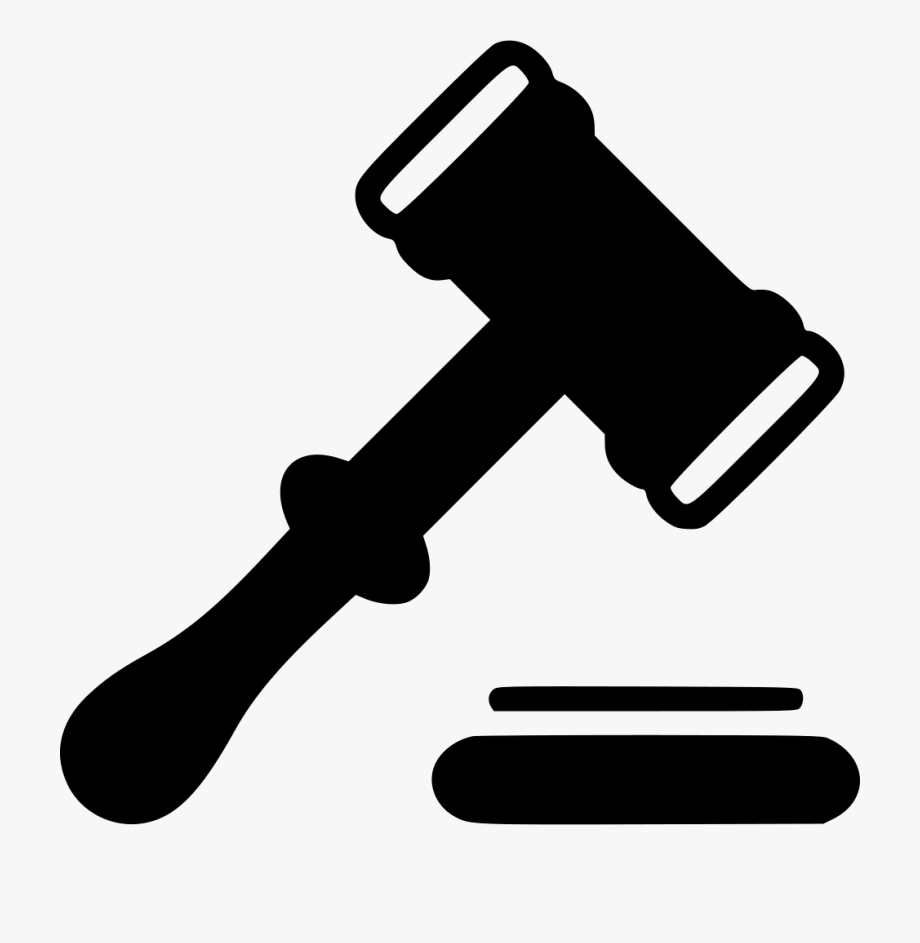 Us hammer court clipart black and white library Hammer Clipart Png - Silhouette Judge Hammer Png #320497 ... black and white library