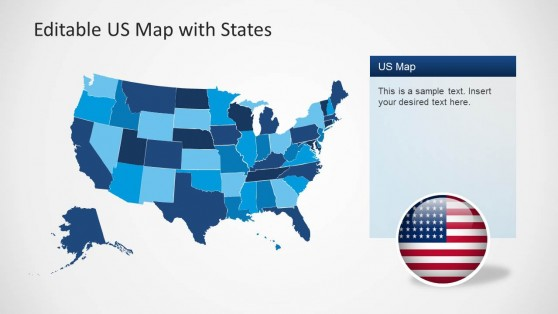 Us map clipart powerpoint clip freeuse Best Editable USA Map Designs for Microsoft PowerPoint clip freeuse