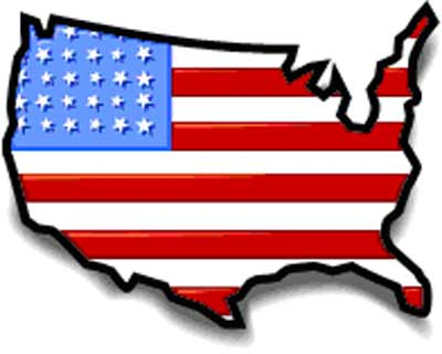 Us map flag clipart jpg library United States Map Clipart & United States Map Clip Art Images ... jpg library