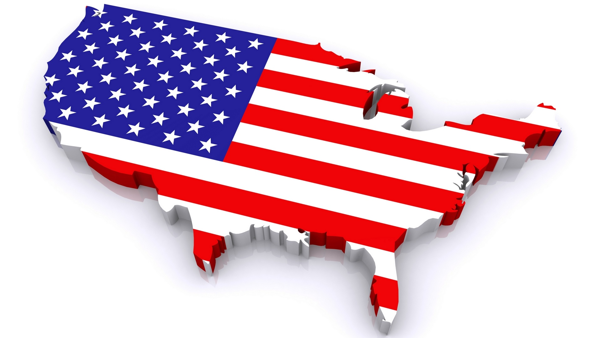 Us map flag clipart image black and white 17 Best images about America red white and blue on Pinterest ... image black and white