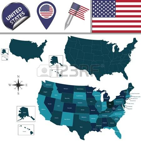 Us map highlighting california clipart clip transparent stock Us map showing california clipart - ClipartFox clip transparent stock