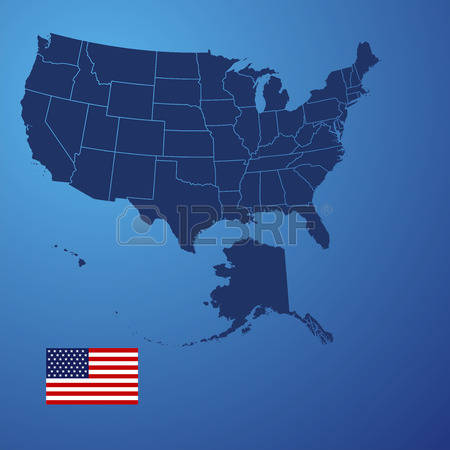 Us map highlighting california clipart banner freeuse download Us map showing california clipart - ClipartFest banner freeuse download