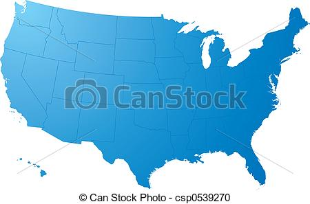 Us map pointing to california clipart jpg freeuse download Us map Clipart and Stock Illustrations. 11,674 Us map vector EPS ... jpg freeuse download