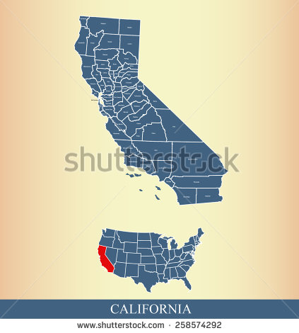 Us map showing california clipart svg transparent download Us map highlighting california clipart - ClipartFest svg transparent download