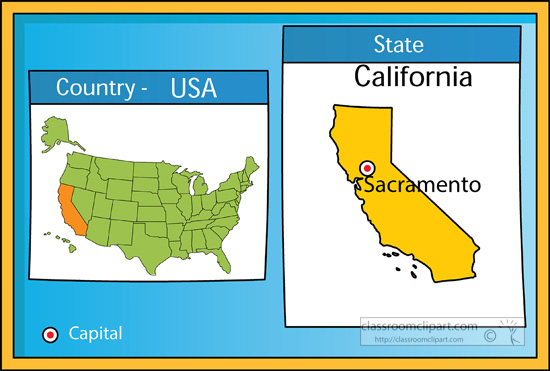 Us map showing california clipart clip transparent Us map showing california clipart - ClipartFox clip transparent