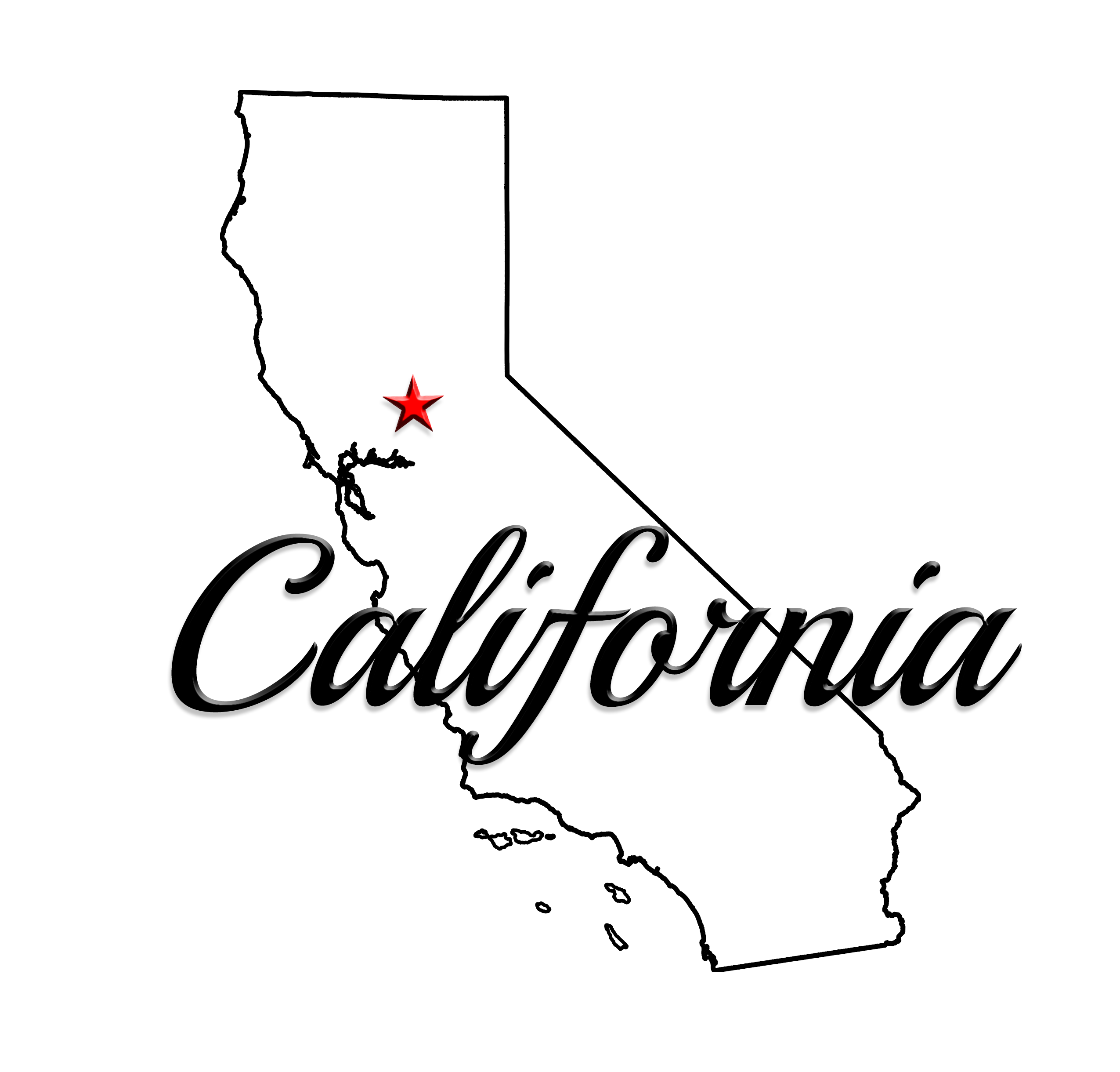 Us map showing california clipart clipart library California clipart cali FREE for download on rpelm clipart library