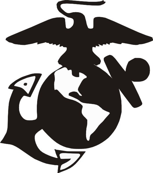 Us marines clipart free clip art black and white library 11 best ideas about USMC on Pinterest | Logos, Usmc emblem and Us ... clip art black and white library