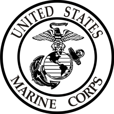 Us marines clipart free jpg black and white download Us Marine Corps Logo - ClipArt Best jpg black and white download
