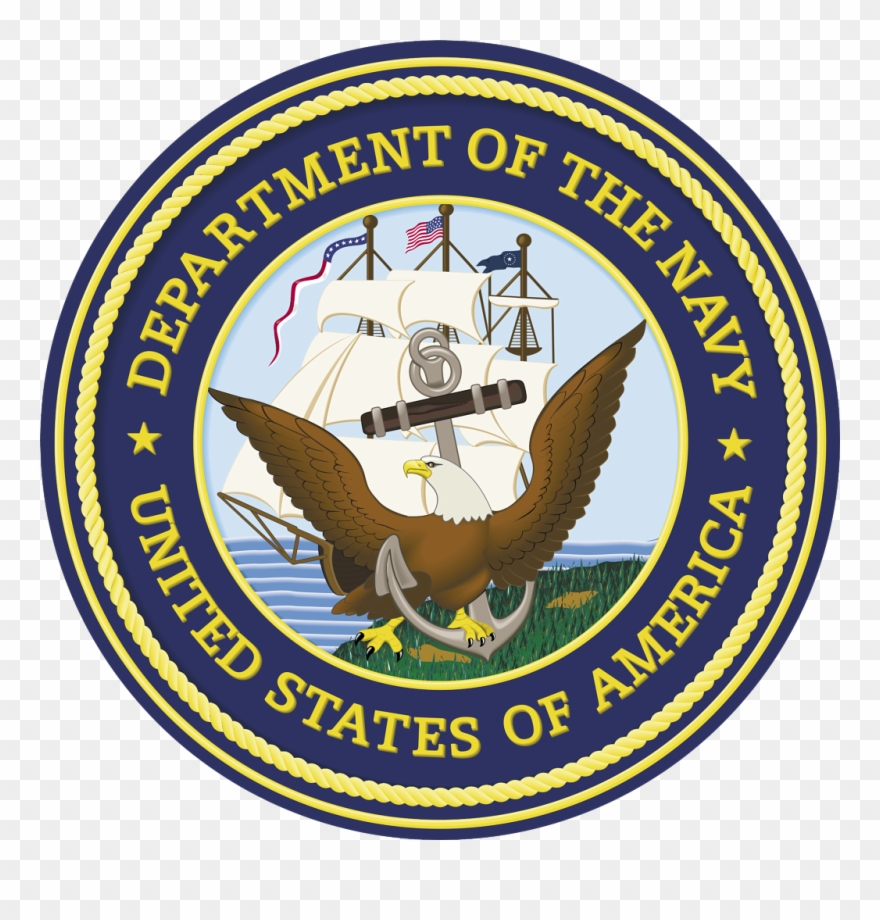 Us navy emblem clipart clipart transparent library Happy Birthday To The United States Navy - Us Navy Logo Ww2 ... clipart transparent library
