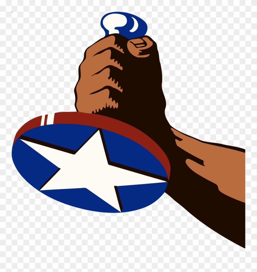 Us propaganda clipart clip Hand With Star Vector Image Stock Photo - Propaganda Poster ... clip