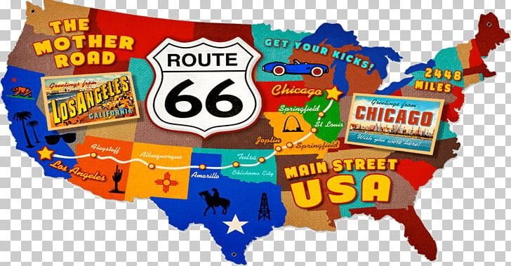 Us road map clipart free graphic royalty free stock U.S. Route 66 In Missouri Road US Numbered Highways Map PNG ... graphic royalty free stock