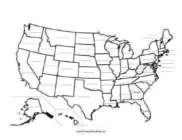 Us states clipart filled with books clip transparent This printable map of the United States of America has blank lines ... clip transparent