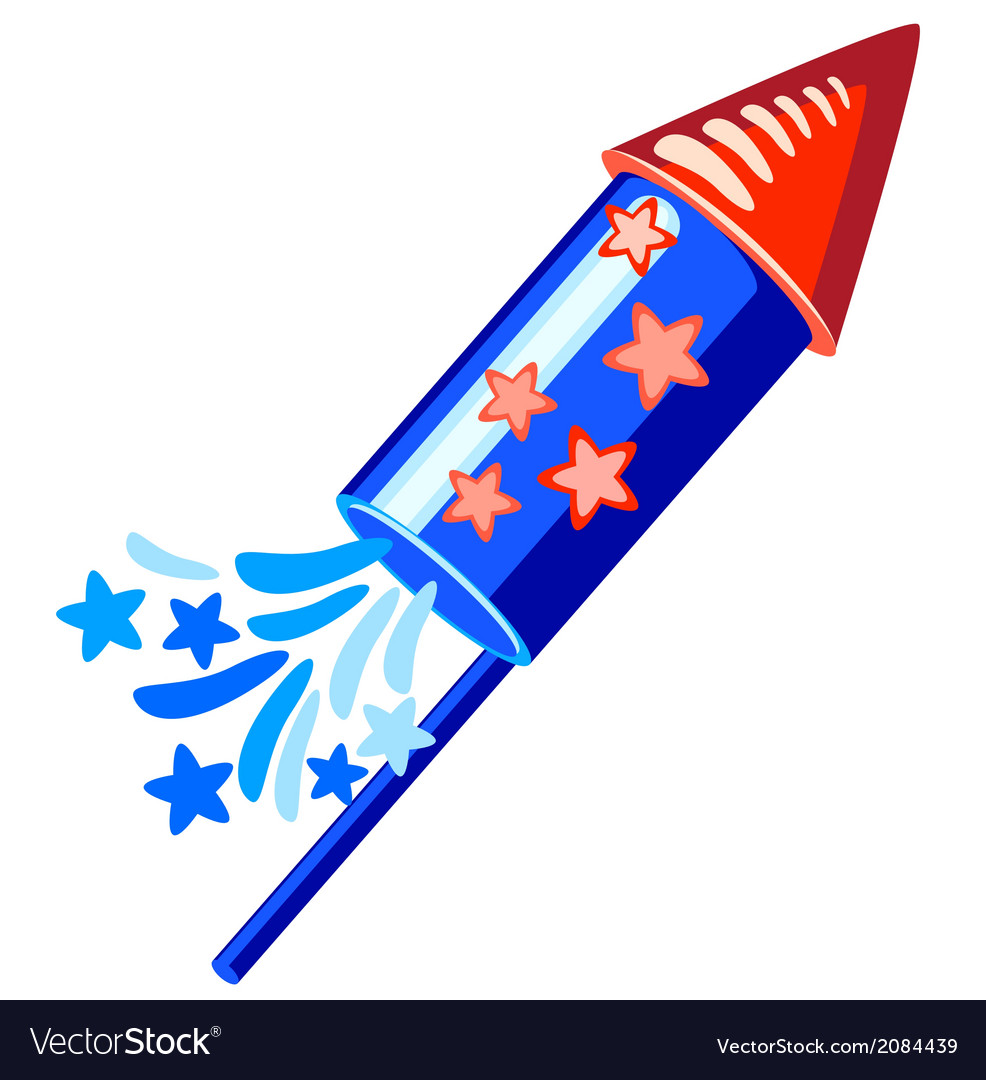 Usa 4th of july rocket clipart graphic library stock 4th july blue rocket graphic library stock
