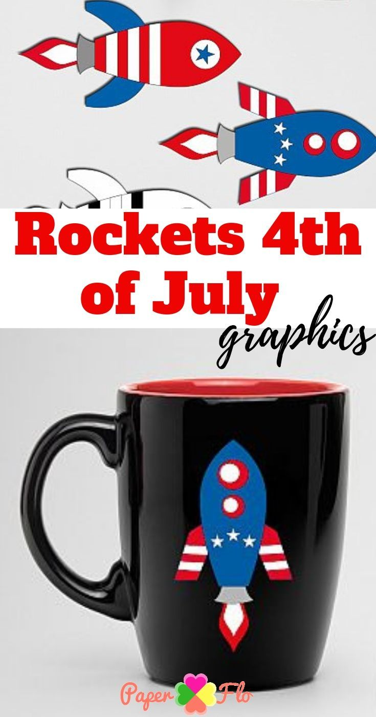 Usa 4th of july rocket clipart png freeuse stock Rockets 4th of July graphics illustrations. Red white and ... png freeuse stock
