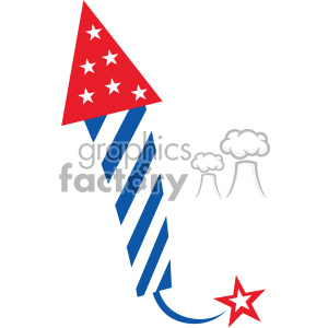 Usa 4th of july rocket clipart clip library 4th of july rocket firework vector icon clipart. Royalty-free clipart #  403802 clip library
