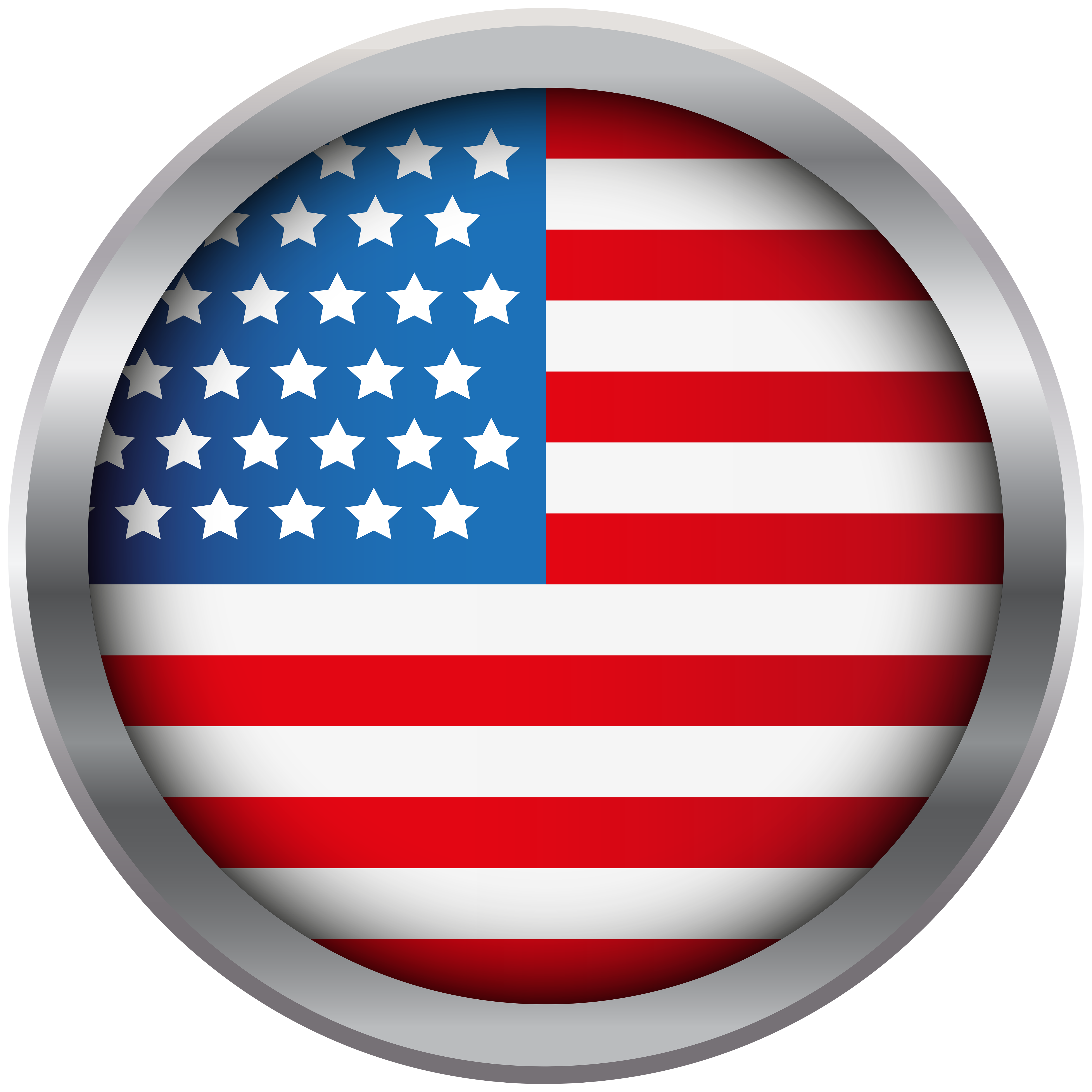 Usa flag decoration clipart clipart royalty free library USA Flag Decoration Transparent PNG Clip Art Image ... clipart royalty free library