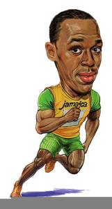 Usain bolt clipart jpg library Usain Bolt Clipart | Free Images at Clker.com - vector clip ... jpg library