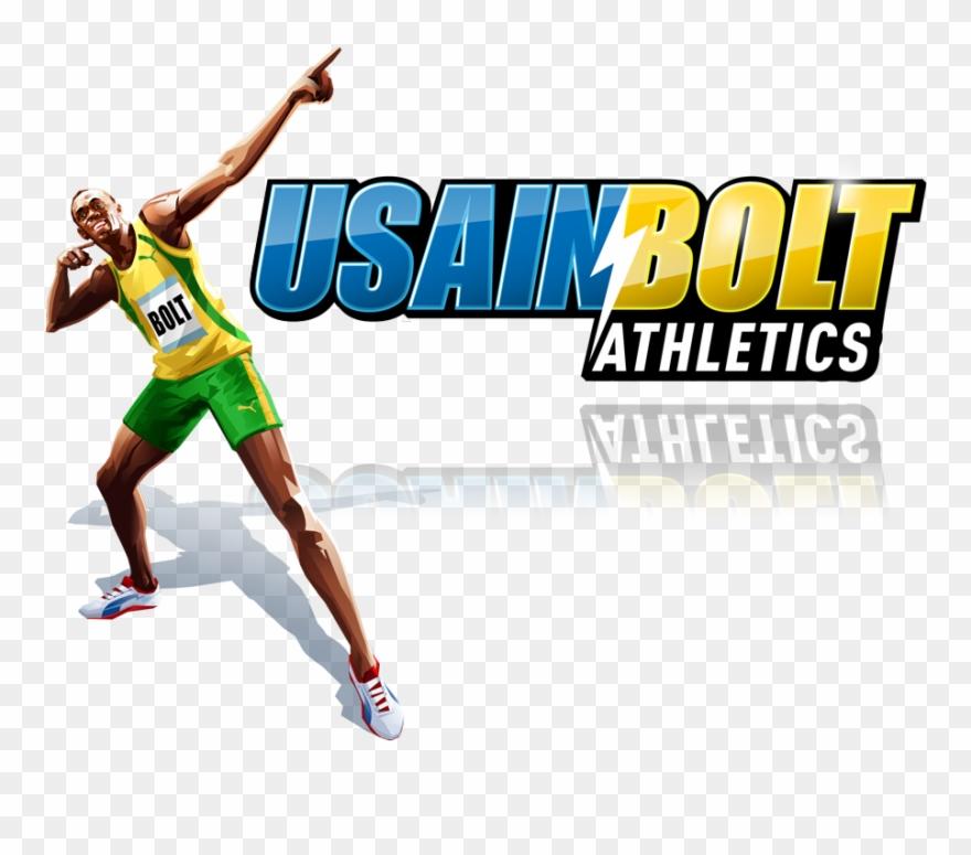 Usain bolt clipart jpg stock Usain Bolt Game Headline Image - Running Olympic Games Track ... jpg stock