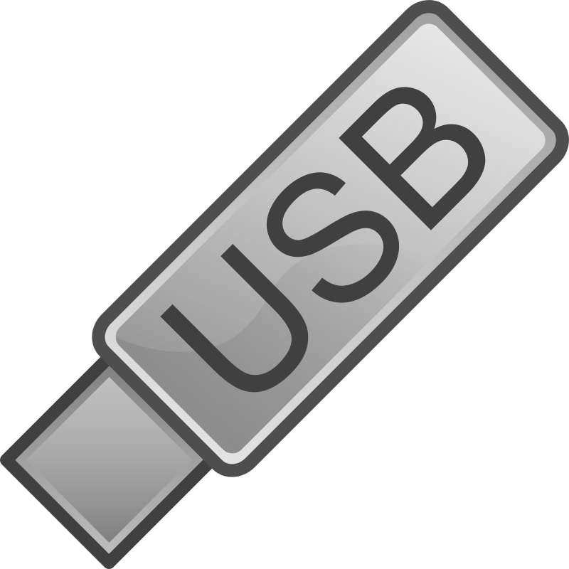 Usb flash drive icon clipart clip freeuse Free Clipart: USB Flash Drive Icon   _TyIzaeL_ clip freeuse