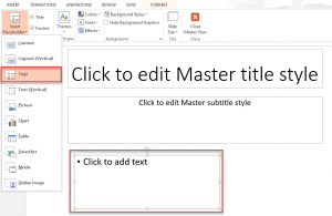 Use a content placeholder to insert a clipart image image free Content Placeholder- Little known features of PowerPoint ... image free