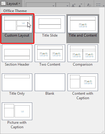Use a content placeholder to insert a clipart image banner download Inserting New Placeholders Within Slide Layouts in ... banner download