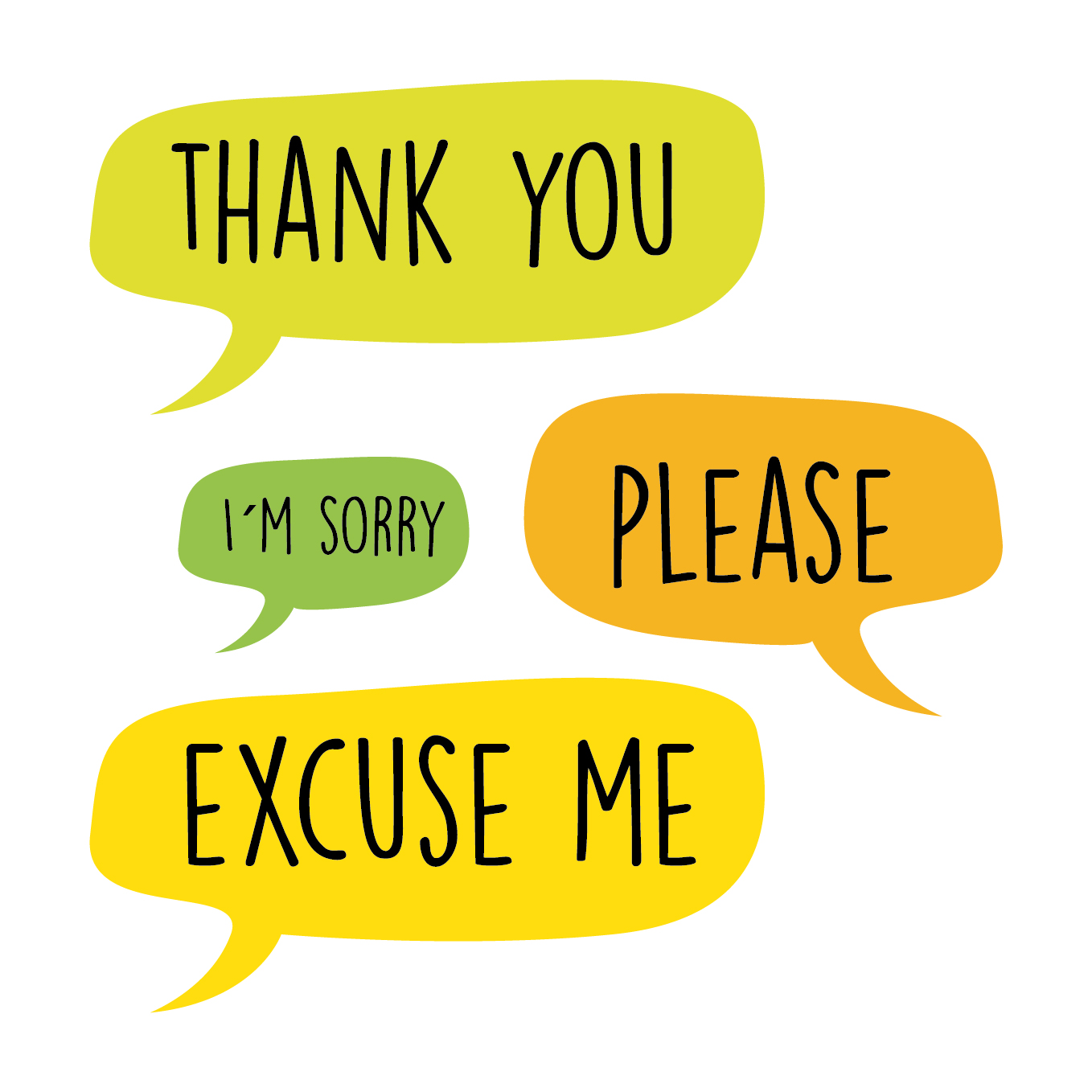 Use kind words clipart png transparent download Writing for Designers › Why Use Manners? Why Be Considerate? png transparent download