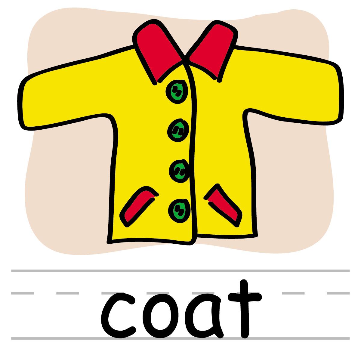 Use kind words clipart vector royalty free library Winter Coat Clip Art - ClipartBay.com vector royalty free library