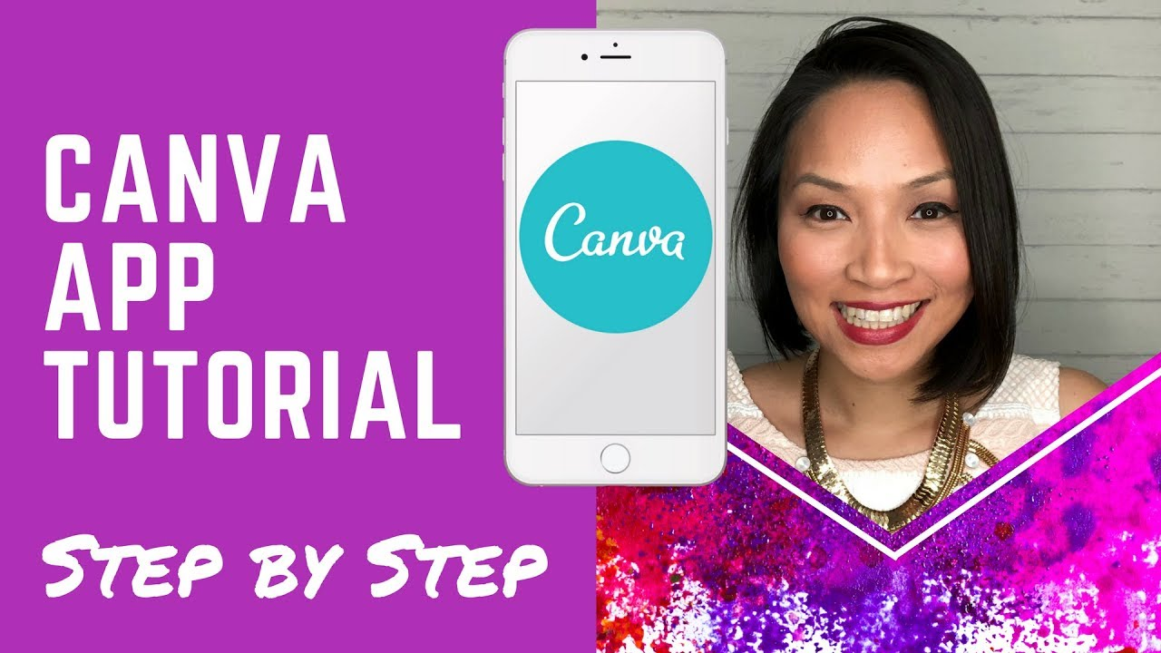 Use own clipart in canva banner library library Canva Tutorial - How to use Canva app on mobile to create stunning graphics banner library library
