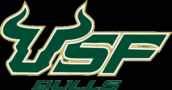 Usf logo clipart black and white graphic University of South Florida Bulls Logo #1 | Kirbys fraternity ... graphic