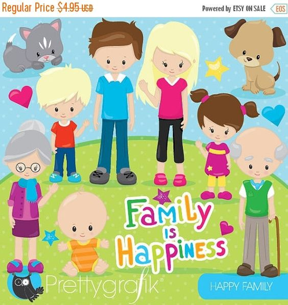 Using clipart for commercial use graphic library library Happy family clipart commercial use, grandparents, vector graphics ... graphic library library