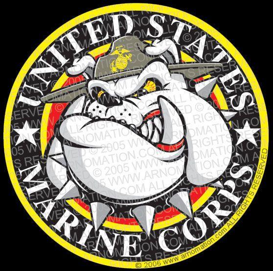 Usmc mom clipart clip royalty free stock usmc   USMC Marine Bulldog Cartoon Logo Design   Cartoon ... clip royalty free stock