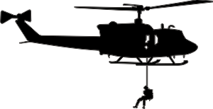 Usmc uh 1 huey clipart graphic free stock UH-1 Iroquois Huey Silhouette 2 Helicopter Decal | North Bay ... graphic free stock