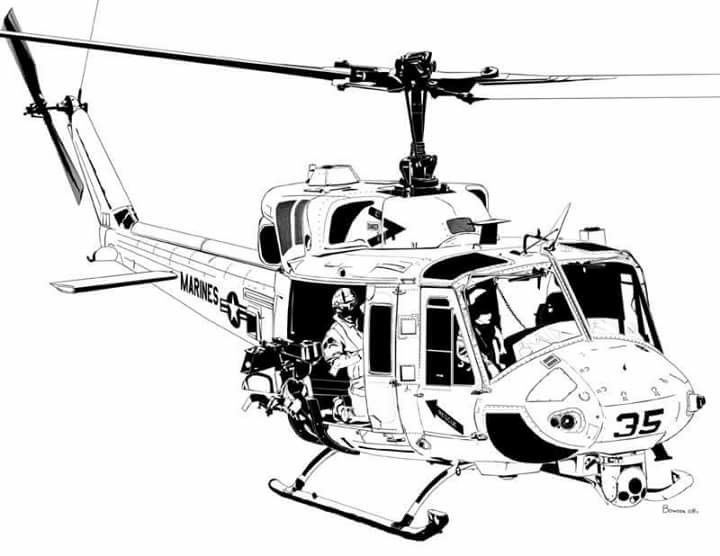 Usmc uh 1 huey clipart clipart library Bell UH-1N Twin Huey | Helicopters | Airplane art, Airplane ... clipart library