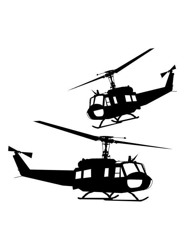 Usmc uh 1 huey clipart svg transparent stock Huey Helicopter SVG Vector | Cricut maker | Silhouette art ... svg transparent stock