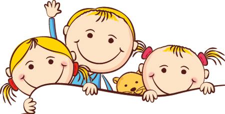 Usmiechniete dzieci w przedszkolu clipart jpg black and white Dzieci W Przedszkolu Clipart jpg black and white