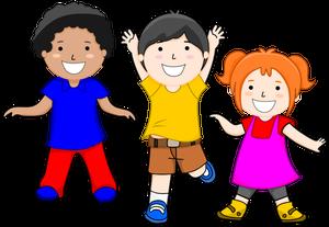 Usmiechniete dzieci w przedszkolu clipart vector transparent library AKTUALNOŚCI – Przedszkole Jedyneczka vector transparent library