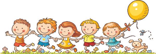 Usmiechniete dzieci w przedszkolu clipart vector transparent stock Dzieci W Przedszkolu Clipart vector transparent stock