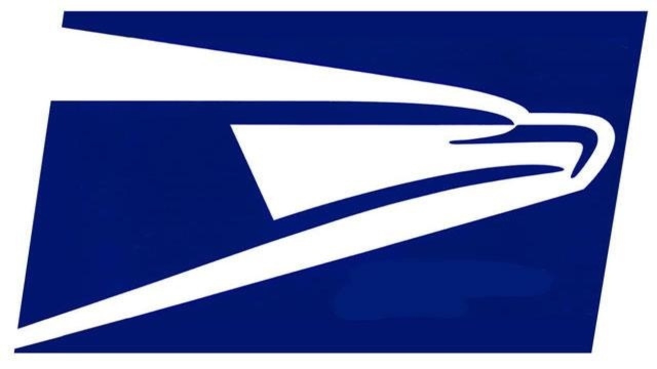 Usps airplane clipart