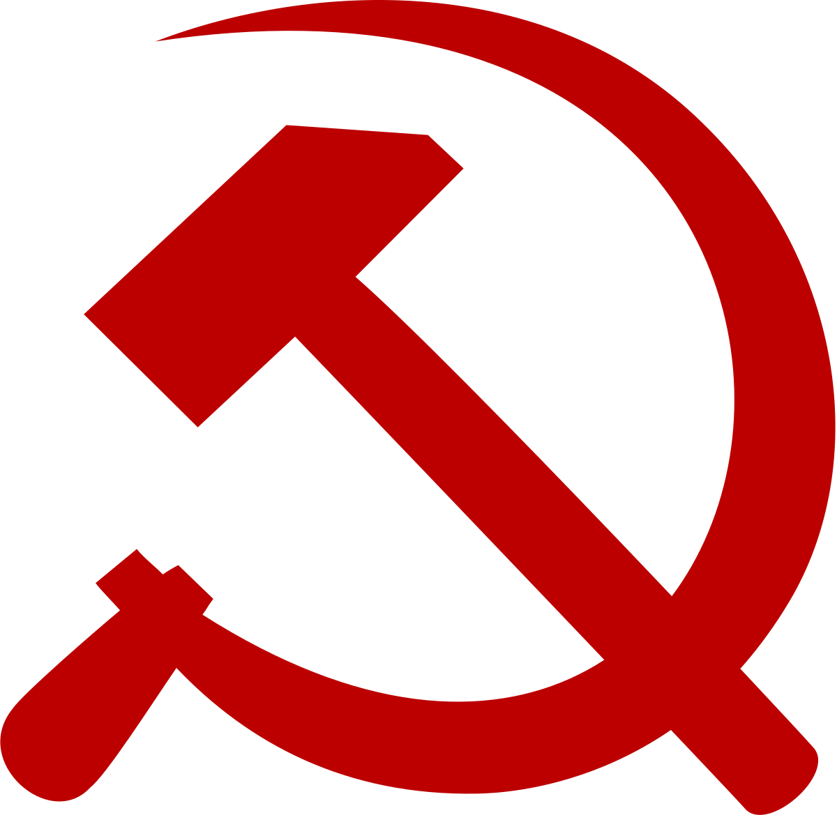 Ussr proletariat clipart banner free stock Hammer and sickle - Wikipedia banner free stock