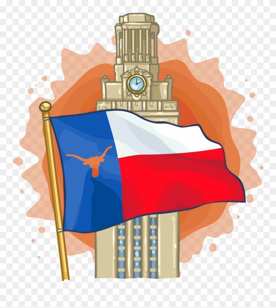 Ut tower clipart banner free stock Ut Austin Tower - Ut Austin Tower Png Clipart (#1397207 ... banner free stock