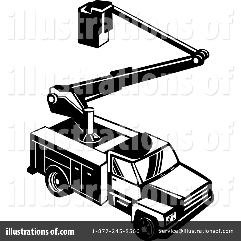Utility truck clipart graphic royalty free library Utility Truck Clipart #215709 - Illustration by patrimonio graphic royalty free library